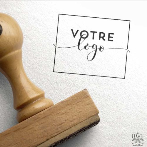 Fabrication tampon avec votre logo PDF. Pour votre mariage, votre entreprise, votre marque ... Fabrication de tampon encreur en bois à partir de votre logo personnel - La Pirate