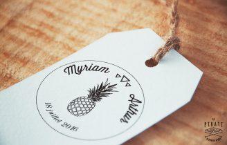 Tampon-Mariage-Ananas-Prenoms-Date-Etiquette