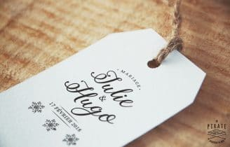 Tampon Mariage Hiver – Winter Romance