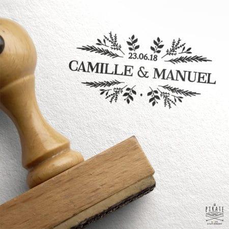 Tampon Mariage Nature et Elégance