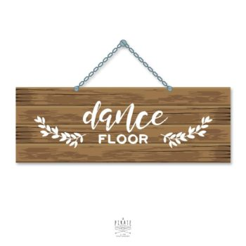 Stickers Dancefloor Mariage Folk - La Pirate