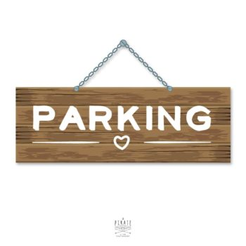 Stickers Parking Mariage Folk - La Pirate