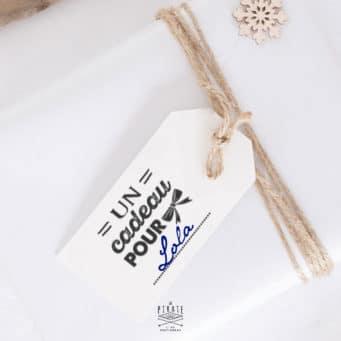 Tampon Cadeau pour toi en bois- DIY Noël