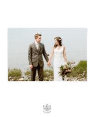 Carte de remerciements personnalisée avec votre photo – Love is in the air