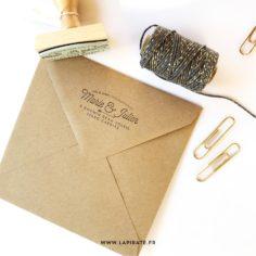 tampon adresse vintage – La Pirate