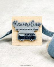Tampon naissance van, mini van, voiture personnalisé