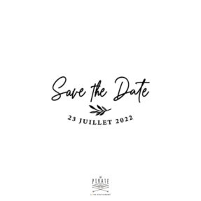 Tampon save the date calligraphie, personnalisé, tampon encreur