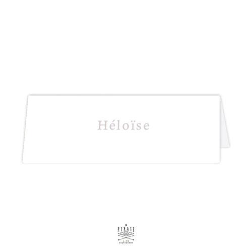 Marque place chevalet, personnalisé des prénoms de vos invités mariage élégant