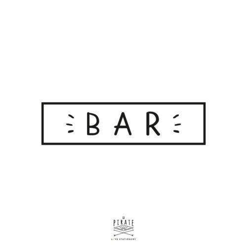 Stickers bar vintage - La Pirate
