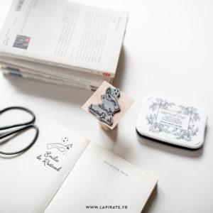 tampon ex-libris personnalisé, pour marquer vos livres